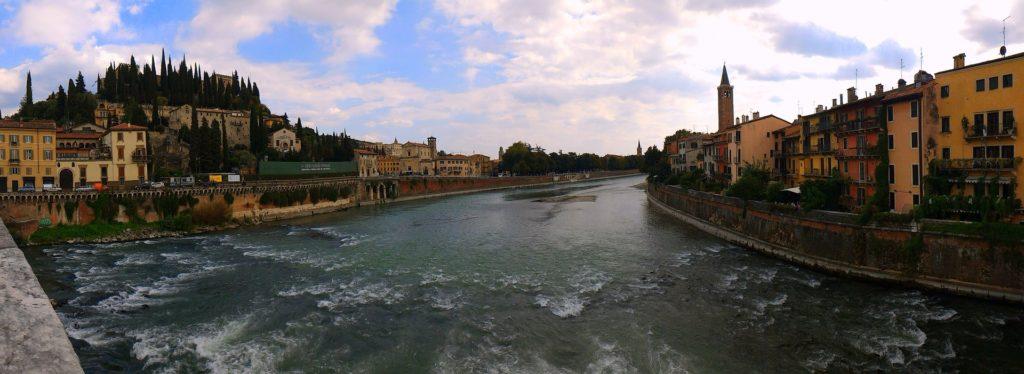 Fiume a Verona