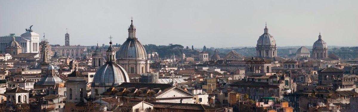Lo Skyline del centro di Roma
